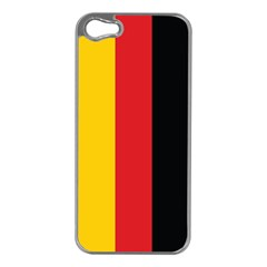 German Flag Apple Iphone 5 Case (silver) by ContestDesigns