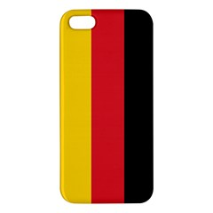 German Flag Iphone 5 Premium Hardshell Case by ContestDesigns