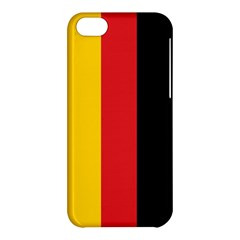 German Flag Apple Iphone 5c Hardshell Case by ContestDesigns