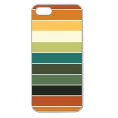 Tension Apple Seamless Iphone 5 Case (clear) by ContestDesigns