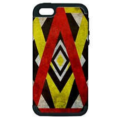 Sharp Edges Apple Iphone 5 Hardshell Case (pc+silicone) by Contest1775858