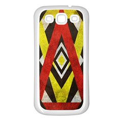 Sharp Edges Samsung Galaxy S3 Back Case (white) by Contest1775858