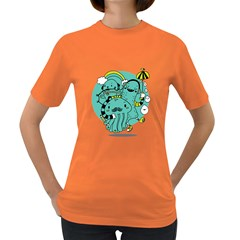Monsters Womens' T Shirt (colored) by Contest1771913