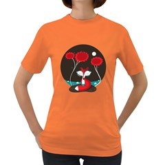 The Red Fox Womens' T Shirt (colored) by Contest1771913