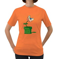 Piranha Plant Womens' T Shirt (colored)