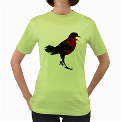 Mad Crow Womens  T Shirt (green) by Contest1767514