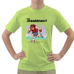 The Joggernaut Green T-shirt by Contest1732250