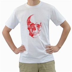 Deadly Pink Mens  T Shirt (white)