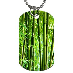 Bamboo Dog Tag (two-sided)  by Siebenhuehner