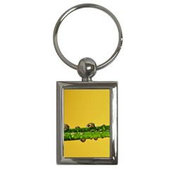 Drops Key Chain (rectangle) by Siebenhuehner