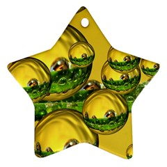 Balls Star Ornament (two Sides) by Siebenhuehner
