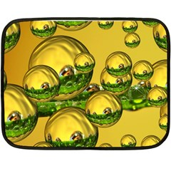 Balls Mini Fleece Blanket (two Sided) by Siebenhuehner