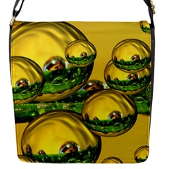Balls Flap Closure Messenger Bag (small) by Siebenhuehner