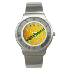 Drops Stainless Steel Watch (slim)