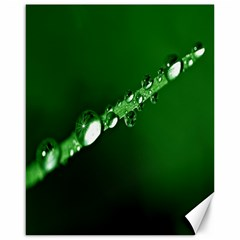 Drops Canvas 16  X 20  (unframed) by Siebenhuehner