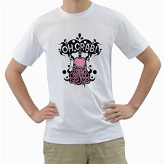 Oh Crab! Mens  T-shirt (white)