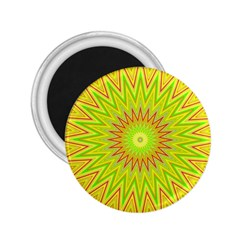 Mandala 2 25  Button Magnet