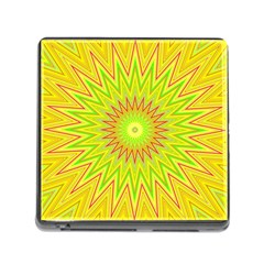 Mandala Memory Card Reader With Storage (square) by Siebenhuehner