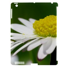 Daisy With Drops Apple Ipad 3/4 Hardshell Case (compatible With Smart Cover) by Siebenhuehner