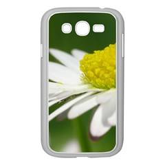 Daisy With Drops Samsung Galaxy Grand Duos I9082 Case (white) by Siebenhuehner