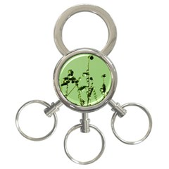 Mint Drops  3 Ring Key Chain by Siebenhuehner