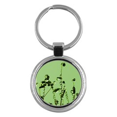 Mint Drops  Key Chain (round) by Siebenhuehner
