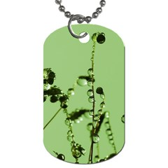 Mint Drops  Dog Tag (two Sided)  by Siebenhuehner