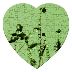 Mint Drops  Jigsaw Puzzle (heart) by Siebenhuehner