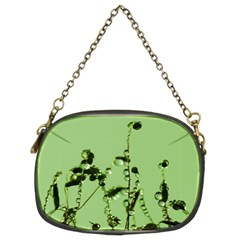 Mint Drops  Chain Purse (two Sided)  by Siebenhuehner
