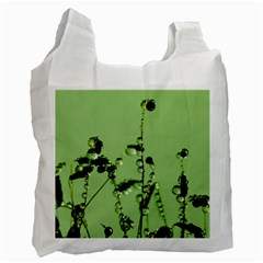 Mint Drops  Recycle Bag (two Sides) by Siebenhuehner