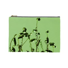Mint Drops  Cosmetic Bag (large) by Siebenhuehner