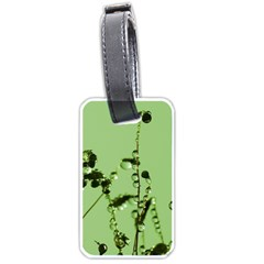 Mint Drops  Luggage Tag (two Sides) by Siebenhuehner