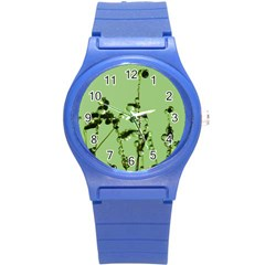 Mint Drops  Plastic Sport Watch (small) by Siebenhuehner