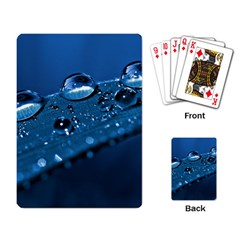 Drops Playing Cards Single Design by Siebenhuehner