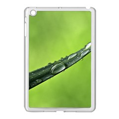 Green Drops Apple Ipad Mini Case (white) by Siebenhuehner