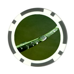 Grass Drops Poker Chip (10 Pack) by Siebenhuehner