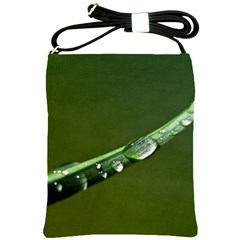 Grass Drops Shoulder Sling Bag by Siebenhuehner