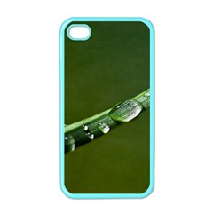 Grass Drops Apple Iphone 4 Case (color) by Siebenhuehner