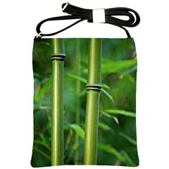 Bamboo Shoulder Sling Bag by Siebenhuehner