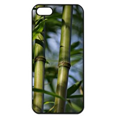 Bamboo Apple Iphone 5 Seamless Case (black) by Siebenhuehner