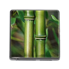 Bamboo Memory Card Reader With Storage (square) by Siebenhuehner