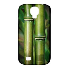 Bamboo Samsung Galaxy S4 Classic Hardshell Case (pc+silicone) by Siebenhuehner