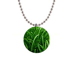 Grass Button Necklace by Siebenhuehner