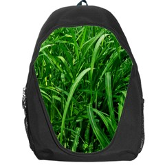 Grass Backpack Bag by Siebenhuehner