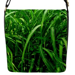 Grass Flap Closure Messenger Bag (small) by Siebenhuehner