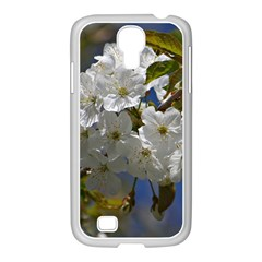 Cherry Blossom Samsung Galaxy S4 I9500/ I9505 Case (white) by Siebenhuehner