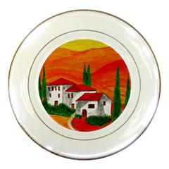 Mediteran Porcelain Display Plate
