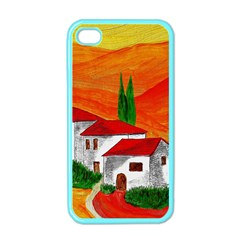 Mediteran Apple Iphone 4 Case (color) by Siebenhuehner