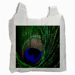 Peacock Recycle Bag (one Side) by Siebenhuehner