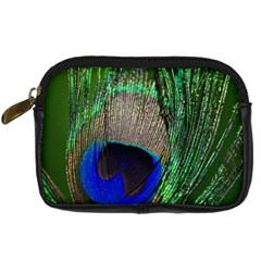 Peacock Digital Camera Leather Case by Siebenhuehner